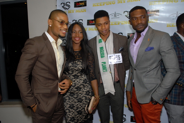 ALEX EKUBO, MR NIGERIA AND KENNETH OKOLI
