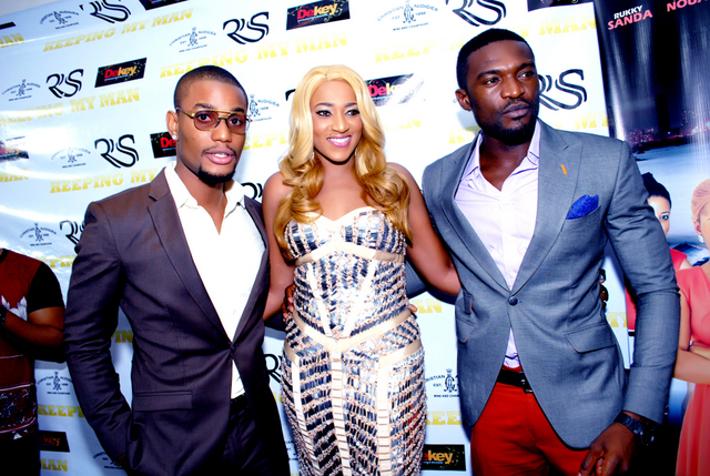 ALEX EKUBO, RUKKY SANDA AND KENNETH OKOLI