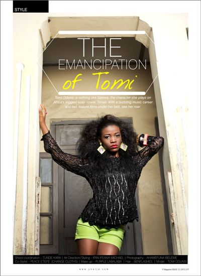 The Emancipation of Tomi - Y! Magazine(1)