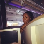 Tiwa Savage Off To London For Her Wedding Shopping