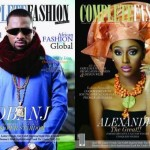 Superstars Dbanj & Alexander Burke Look Stunning On The Cover Of Complete Fashion Magazine November Issue