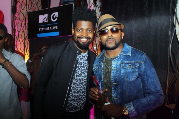 Basketmouth and Banky W