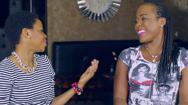 Chidinma and Moet Abebe
