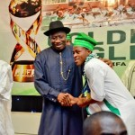 Photos: President Goodluck Jonathan Hosts Golden Eaglets At Aso Villa