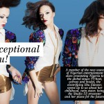 Eku Edewor Covers the November Issue of Side View Magazine
