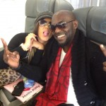 Jim Iyke Takes Nadia Buari On Euro Tour For Her Birthday
