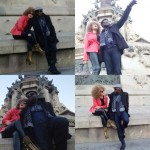 Photos: Jim Iyke and Nadia Buari All Loved Up For Nadia's Birthday In Spain