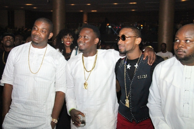 Don Jazzy, Dr Sid and D'Banj