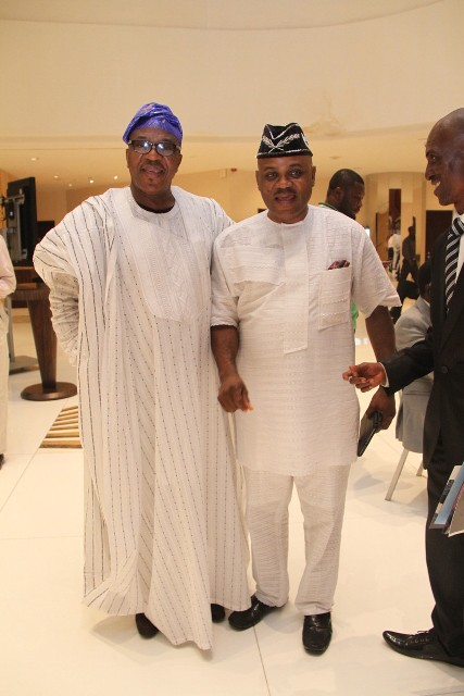 Sonny Irabor and Commissioner of Information Akwa-Ibom-State