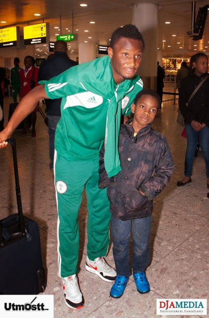 Super Eagles Arriving at Heathrow -15