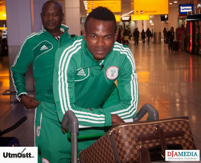 Super Eagles Arriving at Heathrow -49