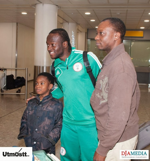 Super Eagles Arriving at Heathrow -8