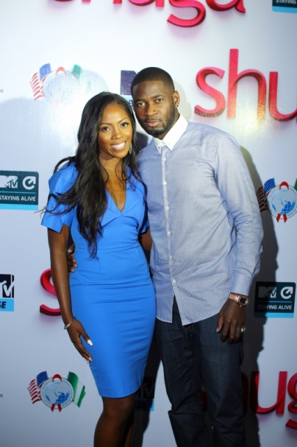 Tiwa Savage and hubby, Tee Billz