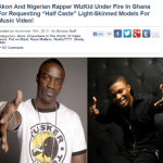 Video: Akon Denies Discriminating Against Dark Skinned Video Models In Ghana