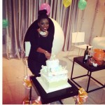 Photos: Tonto Dikeh, Tiwa Savage Join Annie Idibia At Her Baby Shower