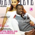 The Beautiful Lola Okoye And Peter Cover December Issue Of Genevieve Magazine