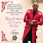 Eye Candy Alert! Iyanya Unwraps Christmas Card & New Promo Shots