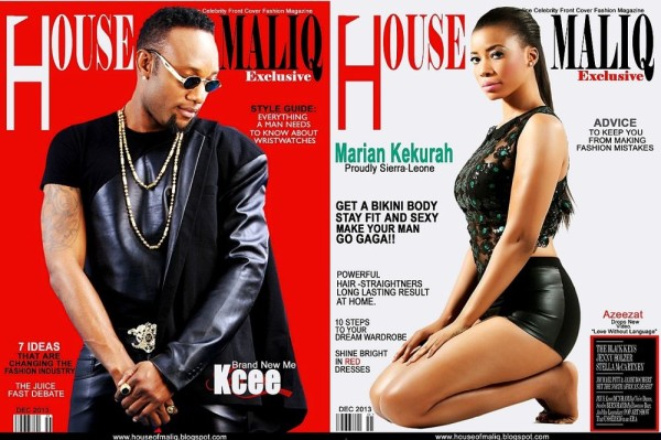 Kcee-Marian-Kekurah-cover-House-of-Maliqs-December-2013-