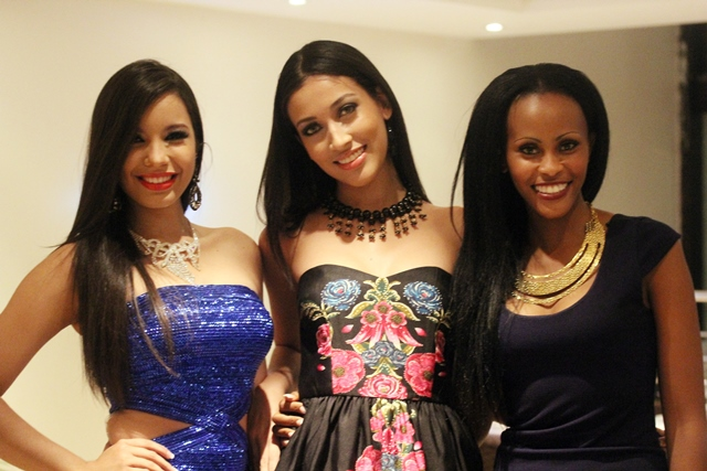 MISS DOMINCAN REPUBLIC, MISS COLOMBIA & MISS SOUTH AFRICA