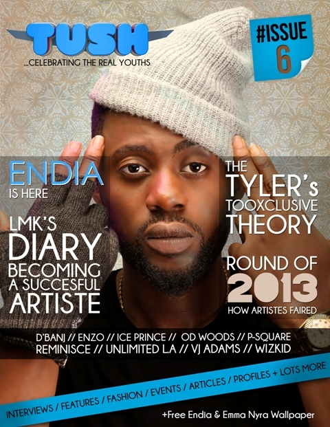 Tush Mag Issue6 cover1