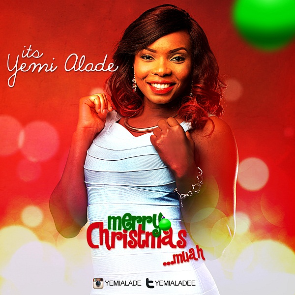 Yemi Alade's Christmas Card