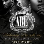Trace Urban & Tiwaworks Presents ABE ( All Black Everything) | Lagos | December, 25th, 2013