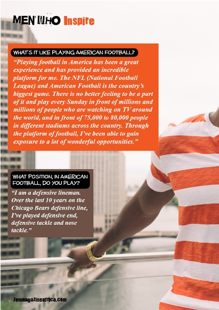 Interview with Israel Idonije3