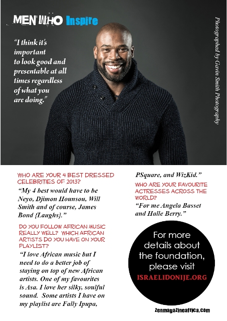 Interview with Israel Idonije8
