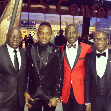 Kenny Ogungbe, Kcee, Dayo Adeneye and Julius Agwu