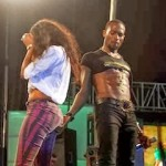 Photos: Dbanj Grabs Woman's Butt On Stage