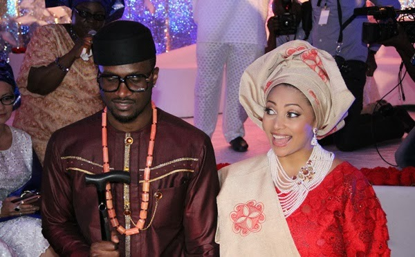 Peter-Okoye-weds-Lola-Omotayo-The-couple-wedded-on-November-17-2013-copy