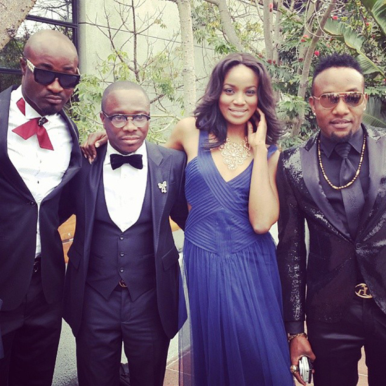 Harrysong, Julius Agwu, Seyi Shay and Kcee