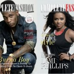 Burna Boy & Lami Phillips Cover February Edition of Complete Fashion Magazine