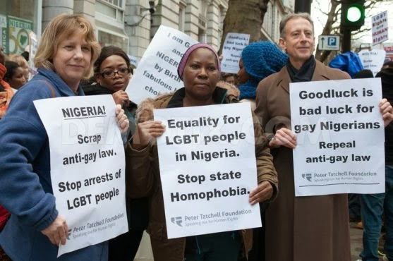 1392914954-lgbt-protest-out-nigerean-high-commission-in-london_3977539