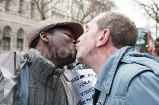 1392914960-lgbt-protest-out-nigerean-high-commission-in-london_3977550