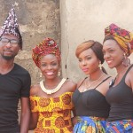 "In Pictures: Yemi Alade Shoots ""Johnny"" Video Starring Beverly Osu, Alex Ekubo, Bovi & More"