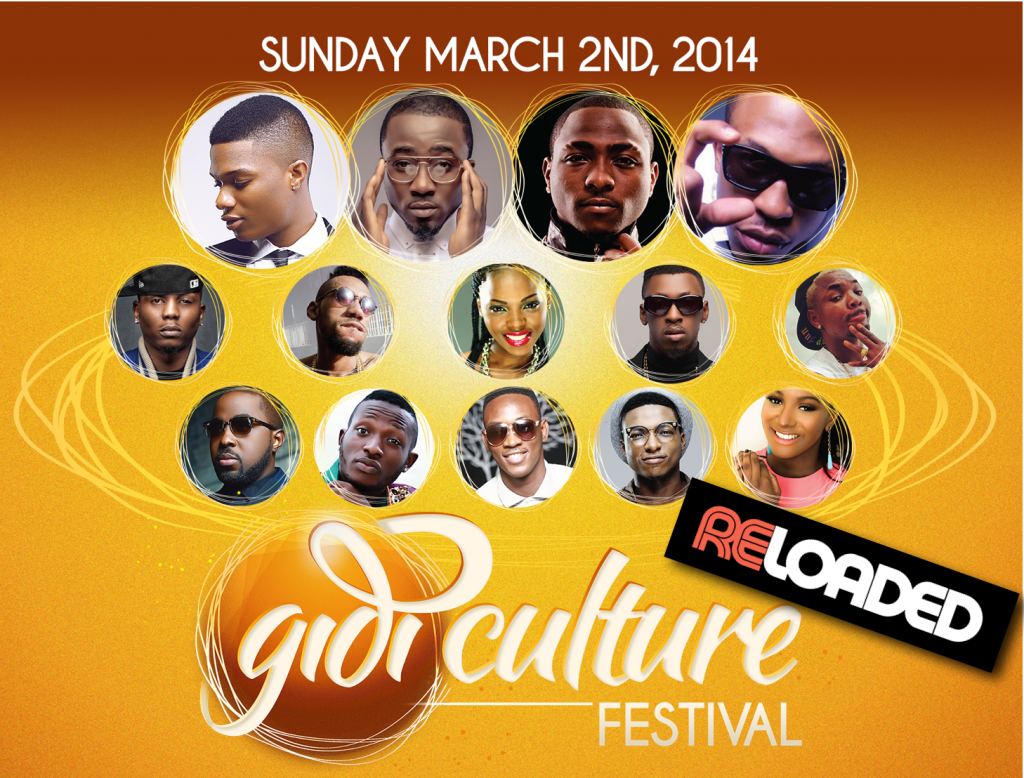 RELOADED VIP Ticket Contest Gidi Culture Festival