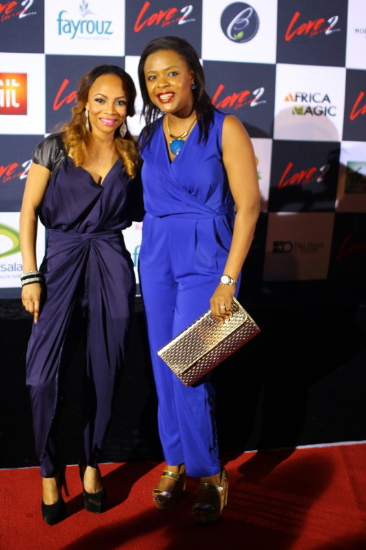 Toke Makinwa and Titi Oyinsan