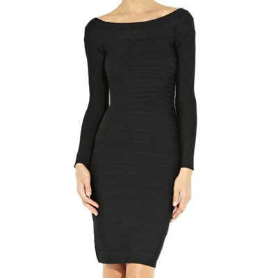 herve-leger-candice-off-the-shoulder-black-bandage