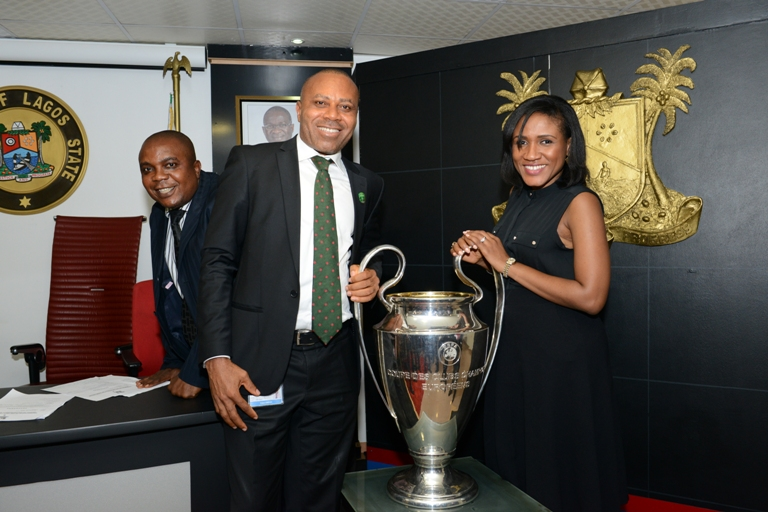 Corporate Media & Brand PR Manager, Vindah Edem and Senior Brand Manager Heineken Ngozi Nkwoji