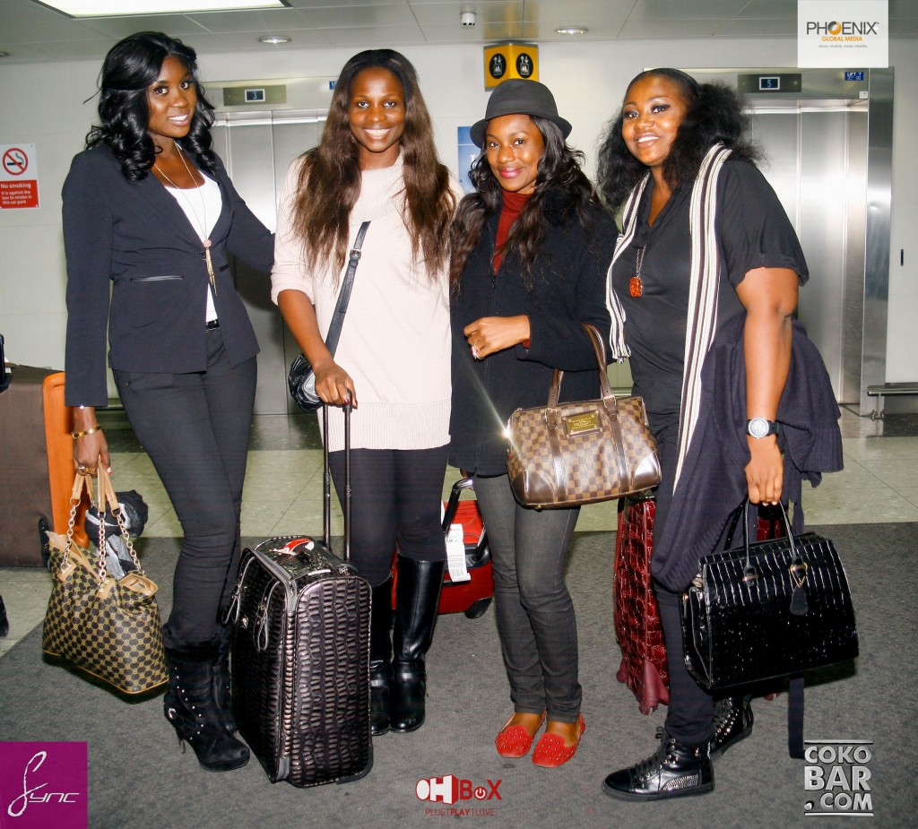 Lekki Wives_Arrive_UK_13March2014_Sync PHOTOS-1