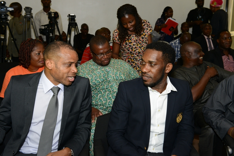 Sunday Oliseh and Jay Jay Okocha
