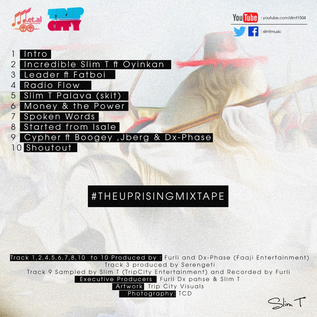 The Uprising Mixtape Back