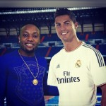 "Photos: Kcee Posts A Picture He ""Took"" With Ronaldo; But Something Is Wrong Somewhere"