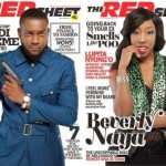 Chidi Mokeme & Beverly Naya Cover RedSheet Magazine March 2014 Issue