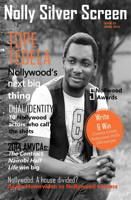 Nolly Silver Screen Issue 03 April 2014 front cover