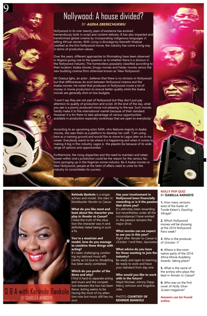 Nolly Silver Screen Issue 03 April 2014 p.9
