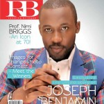 TV Personality/ Actor Joseph Benjamin Covers RB Magazine April/May Issue
