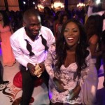 "Video: Tiwa Savage Dancing to ""Drunk In Love"" With Tee-Billz At Their Wedding"