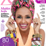 Ethiopian Model Mahlet Seifu covers April Edition of Zen Magazine